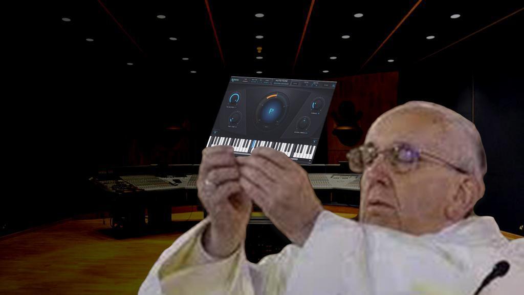 Autotune papa Francescoi
